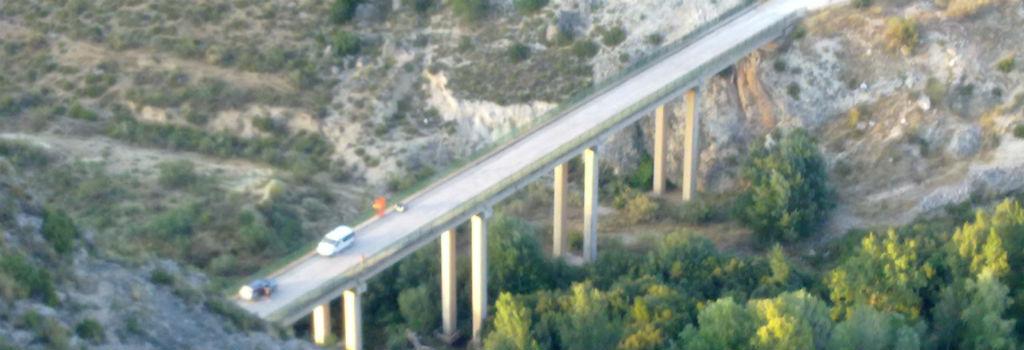 Puente Cabriel Enguidanos Puenting