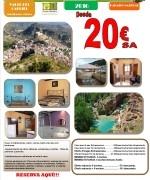 Oferta Casa Rural Valle del Cabriel 2016